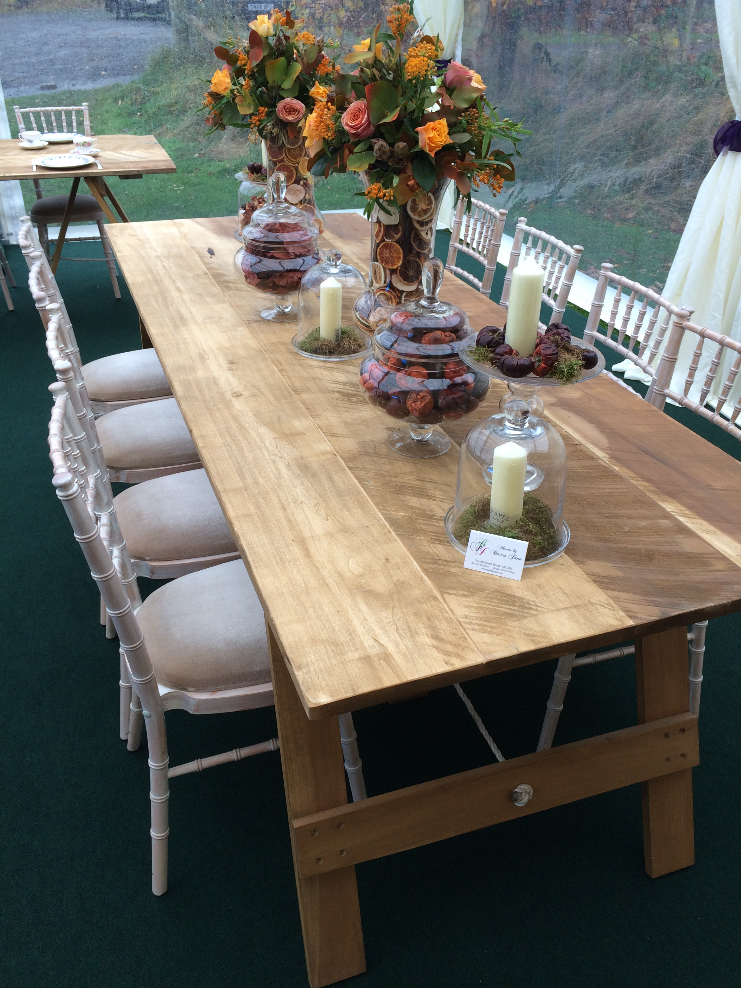 Rustic tables 2